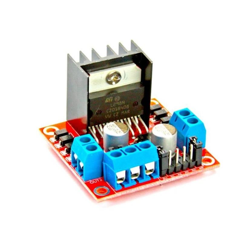 Modulo driver L298N para motor DC