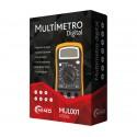 MUL001 Multímetro digital