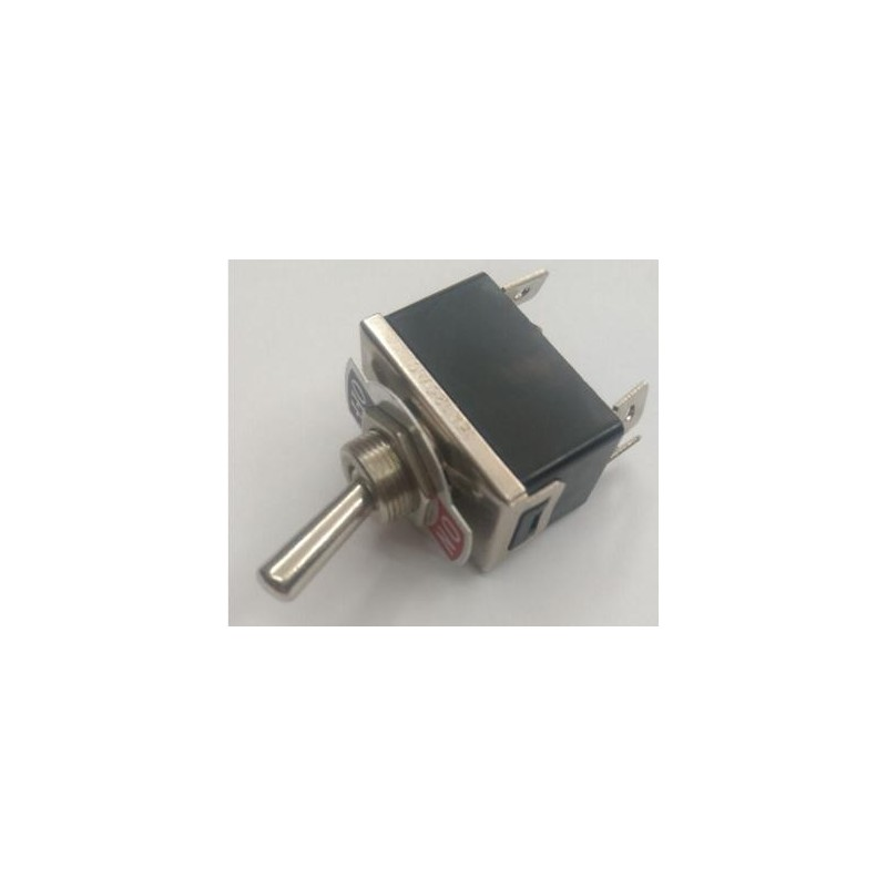 Interruptor unipolar palanca 10A/ 250VAC