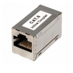Adaptador RJ45 Cat.6 FTP hembra-hembra