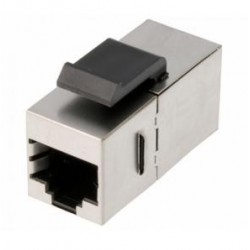 Adaptador RJ45 Cat.5e FTP hembra-hembra panel