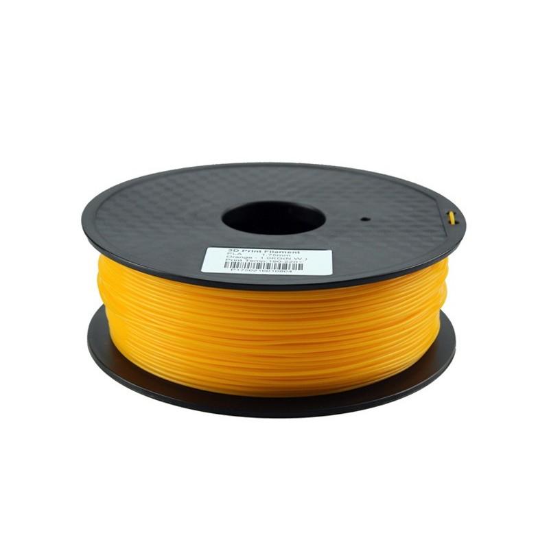PLA Filamento naranja 1.75mm 1kg Impresion 3D