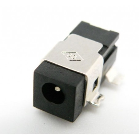 CONECTOR ALIMENTACION HEMBRA 0,65mm tipo SMD