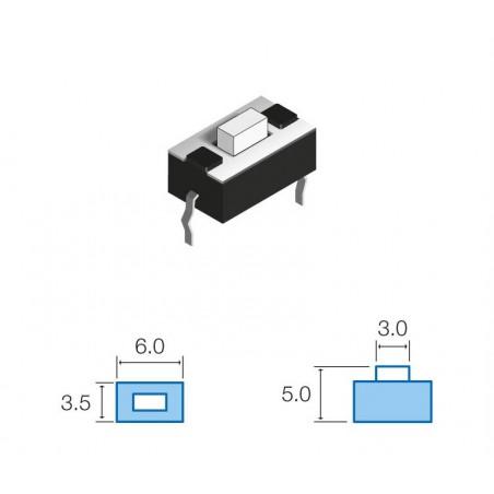 SW073 Pulsador circuito impreso