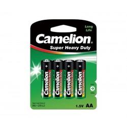 Pila salina Camelion R6/AA 4 UNIDADES