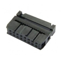 Conector hembra para cable plano 16 pines