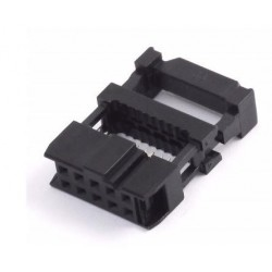 Conector hembra para cable plano 14 pines