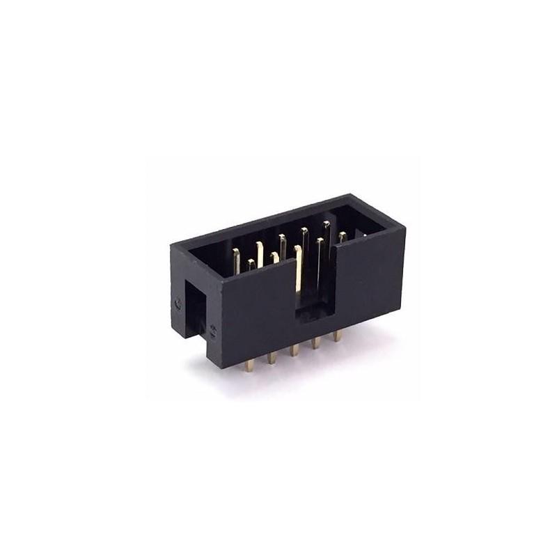 Conector macho para cable plano 16 pines PCB