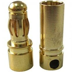 PAREJA DE CONECTORES BULLET 6mm