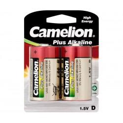 Pila Alcalina Camelion R20 MONO D,  2 UNIDADES