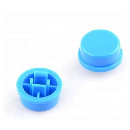 Boton azul para pulsador SW026573 12x12mm