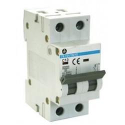Interruptor automático magnetotérmico (MCB). 10A