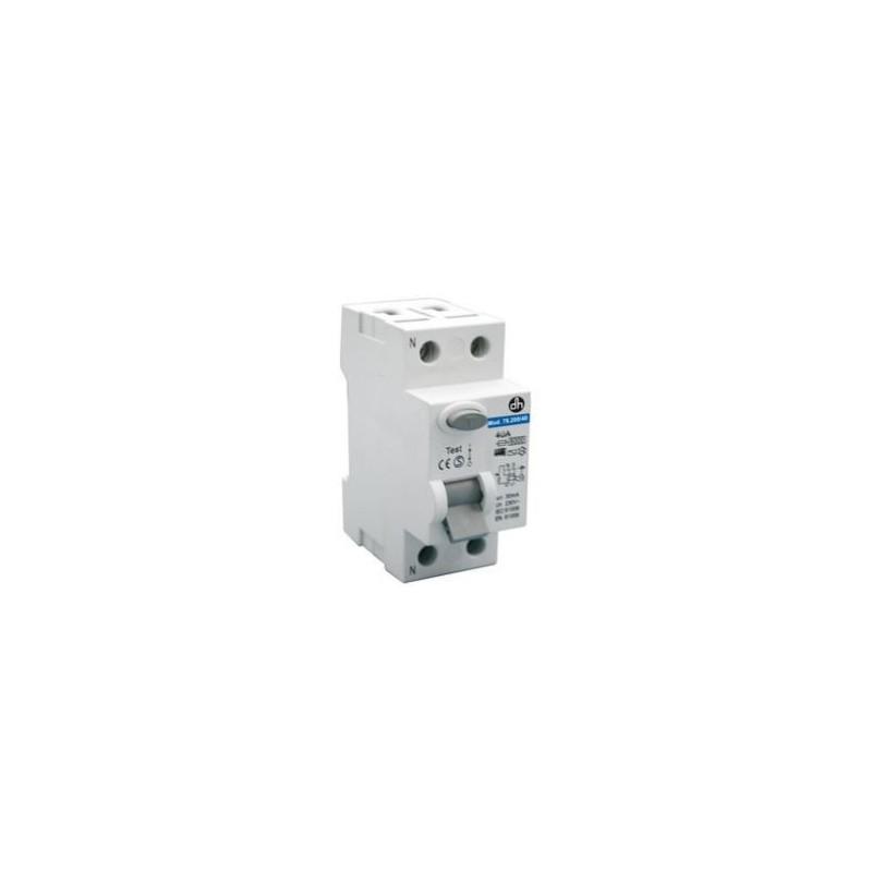 Interruptor automático diferencial (RCCB). 40A