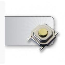Pulsador SMD 4 pin 5,2 x 5,2 x 1,5mm