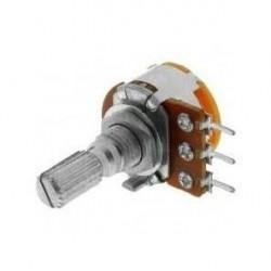 Potenciómetro de panel metálico 500K lineal
