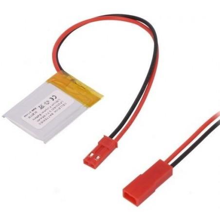 Batería Li-Polímero 3,7V 40mA