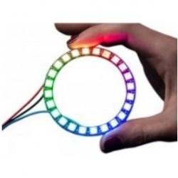 WS2812 ARO LED RGB SMD5050 12-BIT 12XDIODOS Ø50mm