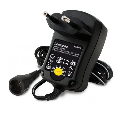 ALM066 Alimentador de 3 a 12V 600mA 7w universal