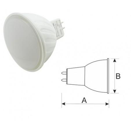 Bombilla LED. MR16. 12 VDC. 7 W.