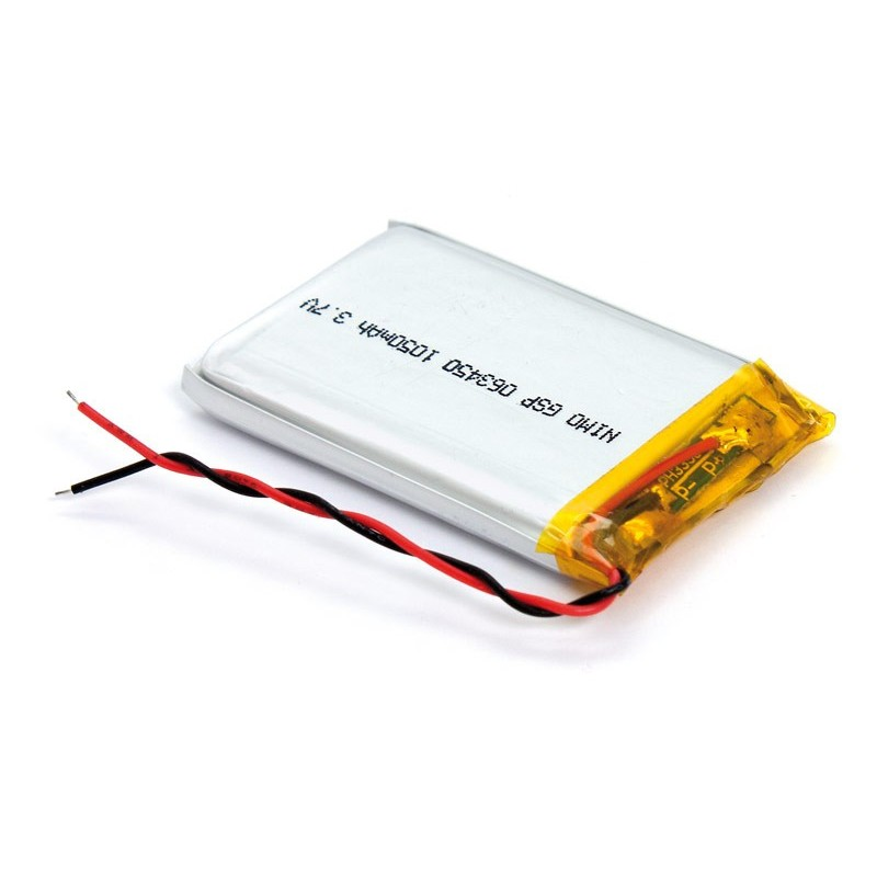 BAT525 Batería Li-Polímero 3,7V 1050mA