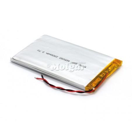 BAT526 Batería Li-Polímero 3,7V 2000mA