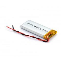 BAT527 Batería Li-Polímero 3,7V 250mA