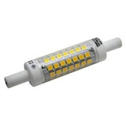 Bombilla LED lineal R7S, 78mm.