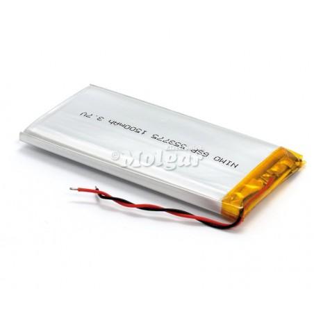 BAT529 Batería Li-Polímero 3,7V 1500mA