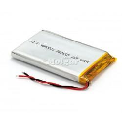 BAT530 Batería Li-Polímero 3,7V 1100mA