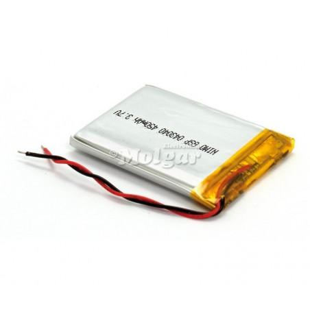 BAT531 Batería Li-Polímero 3,7V 400mA