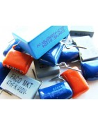 Condensadores de poliester y MKP en bajo y alto voltaje