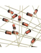 Diodos Zener de diferentes voltajes y watios