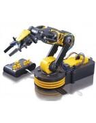 Accesorios mecanicos para robotica, poleas, ejes, ruedas dentadas